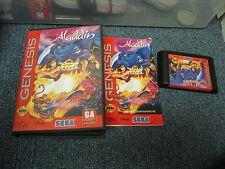 Sega Genesis Aladdin with Box Game