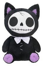 "NEW! 10"" Furrybones Furry Bones Black Mao Mao Cat Large Plush Skeleton Gift 1149"