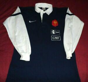 Maillot De Rugby D'Entrainement Du XV De France Porté Saison 1998/1999 Taille M