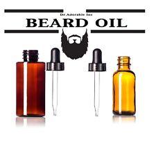 Best Moisturizing BAY RUM BEARD OIL Organic Care for Itching Beard 1.1.oz