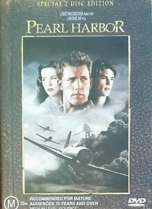 Pearl Harbor DVD Ben Affleck WAR MOVIE Region 4 Australia