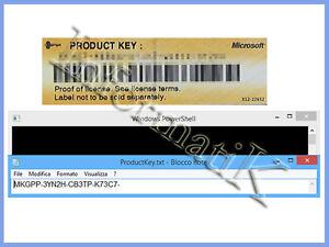 Ricerca Product Key Finder per Microsoft Windows XP / Vista / 7 / 8 / 8.1 / 10