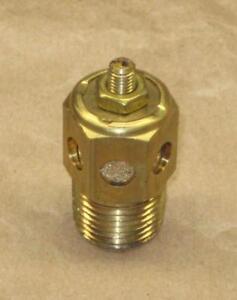 Altra/Boston Gear E634/70421 1/2 Pneumatic Brass Muffler Flow Adjustable exhaust