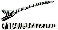 HEAD Jog klipitz zebra di plastica clip per capelli per parrucchiere/morsetti x6 stesso giorno Dispatc