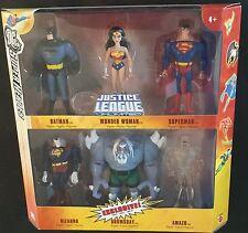 DC Justice League DOOMSDAY Bizarro Amazo 6-Pack Mattel DC UNIVERSE 2006 MISB NEW