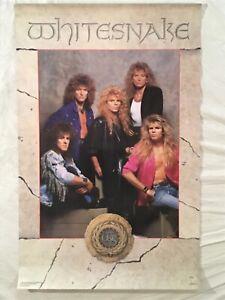 Whitesnake 1987 Poster Funky David Coverdale