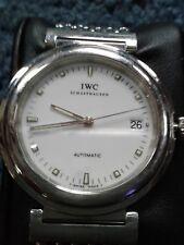 Authentic IWC Schaffhausen Date Automatic Stainless Men's Wrist Watch