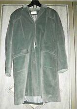 Velvour teal coat by KIT SIZE UK 16 EU 42