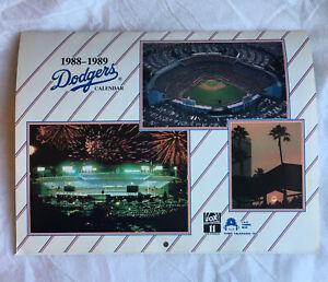 1988-1989 Los Angeles Dodgers Calender