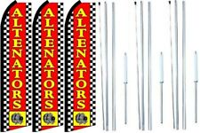 New listing Altenators Swooper Flag With Complete Hybrid Pole set- 3 pack