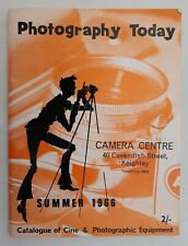 Photography Today Summer 1966 Catalogue of Cine & Photographic Equipment