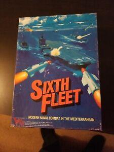 Victory Games (1985)] Sixth Fleet Naval Combat in the Mediterranean, unpunched