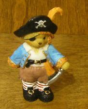 Cherished Teddies #4023635 GARY, Friendship, HALLOWEEN Pirate Costume, New/Box