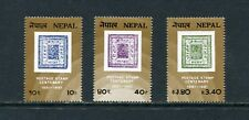 STAMPSonSTAMPS - Nepal  - 1981 set of 3-(SC 392-4)-MNH-C653