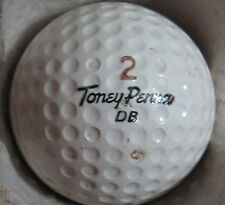 (1) TONEY PENNA SIGNATURE LOGO GOLF BALL (SPORTSMAN LIQUID CENTER CIR 1955) #2