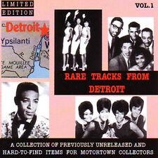 V.A. - RARE TRACKS FROM DETROIT Vol. 1  - Great MOTOWN