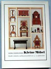 Kleine Möbel 13./20.Jh.G. Himmelheber Modell-Kassettenminiaturen Truhen, Sitzmöb