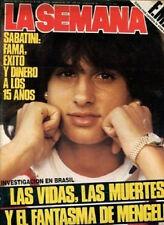 GABRIELA SABATINI Sexy Tennis Mag Argentina 1985