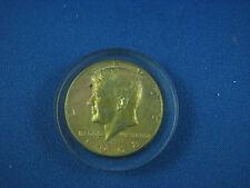 1968 US Half dollar Silver  molded of plastic UNC very nice tonning