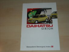 30527) Daihatsu Sirion Prospekt 1995