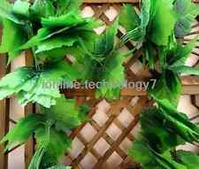 82' faux silk grape IVY artificial garlands wired fake Plant leaf house art deco