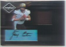jay cutler rookie rc auto jersey patch chicago bears vandy leaf limited #/50
