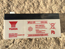 Yuasa NP3.2-12 12v 3.2Ah 12 volt Sealed Lead Acid  rechargeable battery