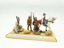 Quiralu - Diorama Spahis Und Zar Marokkanische Krieg Rif Marokko 1920