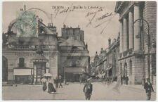 DIJON 3 CPA - rue de la Liberté animée et rare - souvenir de Dijon rue de Condé