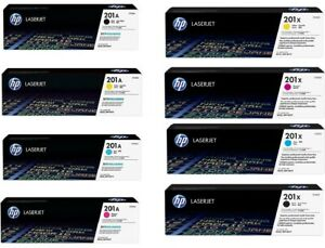 GENUINE HP201A / HP201X TONER CARTRIDGES, CHOICE OF 8 TYPES - SENT QUICKLY