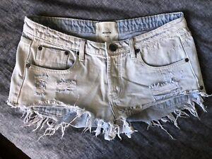 one teaspoon Bonita Jeans Shorts 30/12