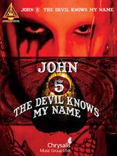 JOHN 5 GUITAR TABLATURE / ***BRAND NEW*** / JOHN 5 GUITAR TAB SONGBOOK