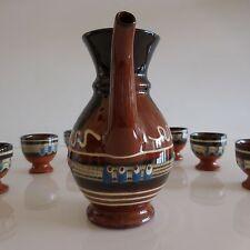 Céramiques en terre cuite faïence vernissée fait main handmade