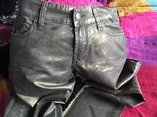 Miss Sixty Gold Trousers Size:28 L:29 New