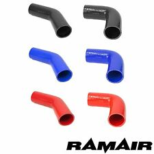Ramair 45 & 90 Degree Silicone Hose Bend Pipe Elbow Air Water Boost Intercooler