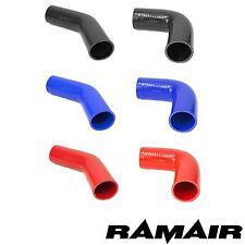RAMAIR 45 & 90 Gradi Tubo IN Silicone Curva Gomito Aria Acqua Boost Intercooler