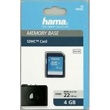 HAMA HIGH SPEED SDHC 4GB CLASS 10 SECURE DIGITAL CARD 104365
