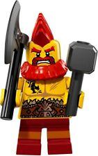 Lego 71018 Minifigures Series 17 Battle Dwarf - Brand New, sealed packet