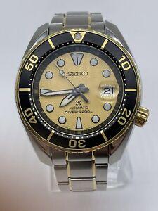 Sumo Prospex Zimbe #15 SPB194J Limited Edition Diver Watch
