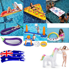 Inflatable Giant Swim Ring Float Raft Swimming Pool Beach Lounge Toy AU