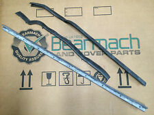 Bearmach Land Rover Series 2, 2a, 3, Drivers Lower Door Sill Seals Kit x 3 OEM
