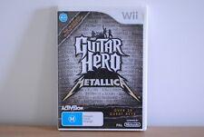Guitar Hero Metallica nintendo wii foo fighters queen motorhead mastodon kyuss