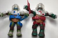 TMNT DIMENSION X LEONARDO Teenage Mutant Ninja Turtles 2013 Playmates Figure