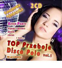 TOP PRZEBOJE DISCO POLO vol 1   CD  POLISH POLSKI