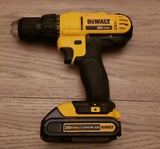 """Dewalt 20V MAX 1/2"""" Cordless Drill with Lithium-Ion Battery DCD771"""