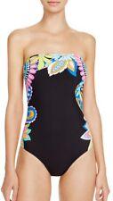 Nwt $148 Sz 8 Trina Turk Monaco One Piece Bandeau Swimsuit