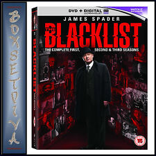 THE BLACKLIST - COMPLETE SEASONS 1 2 & 3  *BRAND NEW DVD BOXSET**