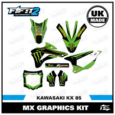 Kawasaki KX 85 2014 2015 2016 2017 2018 14 15 16 17 18 Motocross Graphics kit MX
