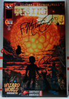 RISING STARS #1 3X-SIGNED! MARC SILVESTRI ++ Wizard World Chicago '99 Exclusive