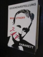 80117 Max Uthoff Musik TV Film Kino original signierte Autogrammkarte